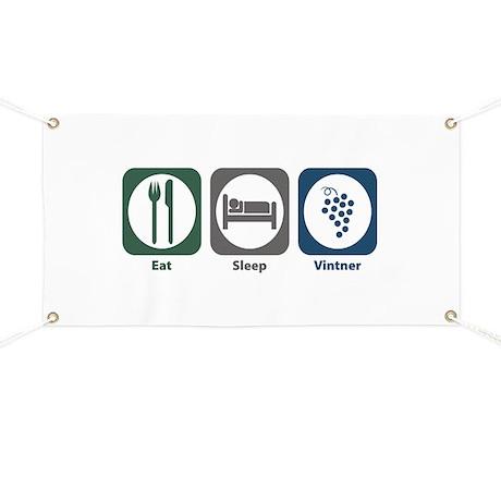 Eat Sleep Vintner Banner