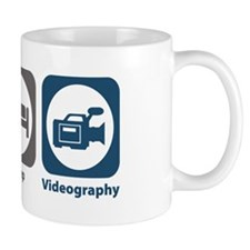 Eat Sleep Videography Mug