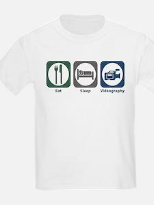 Eat Sleep Videography T-Shirt