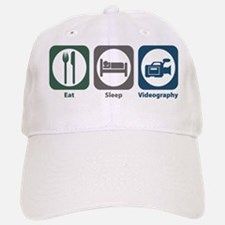 Eat Sleep Videography Baseball Baseball Cap