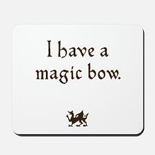 magic bow Mousepad