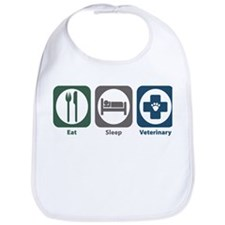 Eat Sleep Veterinary Bib