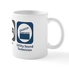 Eat Sleep Utility Sound Technician Mug