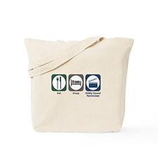 Eat Sleep Utility Sound Technician Tote Bag