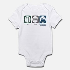 Eat Sleep Utility Sound Technician Infant Bodysuit