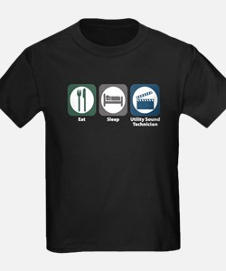 Eat Sleep Utility Sound Technician T