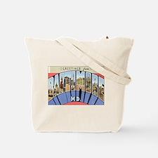 California Postcard Tote Bag