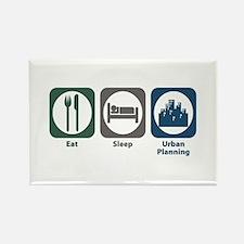 Eat Sleep Urban Planning Rectangle Magnet