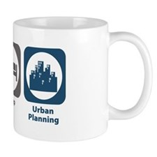 Eat Sleep Urban Planning Mug