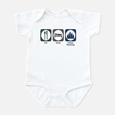 Eat Sleep Urban Planning Infant Bodysuit