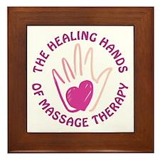 Healing Hands MT Framed Tile