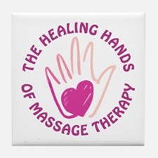 Healing Hands MT Tile Coaster