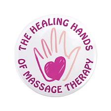 """Healing Hands MT 3.5"""" Button"""