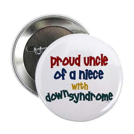 """Proud Uncle....2 (Niece DS) 2.25"""" Button"""