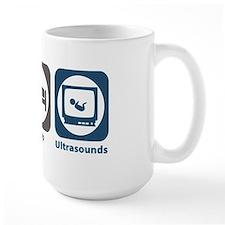 Eat Sleep Ultrasounds Mug