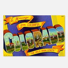 Colorado Postcard Postcards (Package of 8)