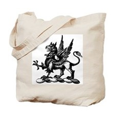 Hand Drawn Griffin Tote Bag