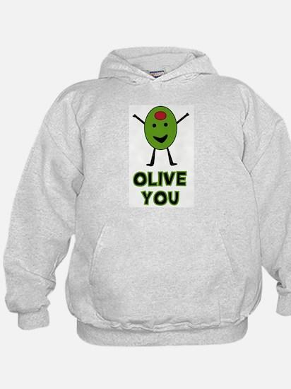 Olive You - I Love You Hoodie