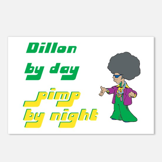 Dillon - Pimp By Night Postcards (Package of 8)
