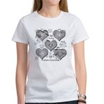 The Missing Piece Is Love Women's T-Shirt
