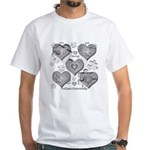 The Missing Piece Is Love White T-Shirt