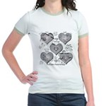 The Missing Piece Is Love Jr. Ringer T-Shirt