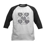 The Missing Piece Is Love Kids Baseball Jersey