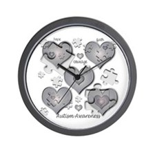 The Missing Piece Is Love Wall Clock