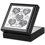 The Missing Piece Is Love Keepsake Box