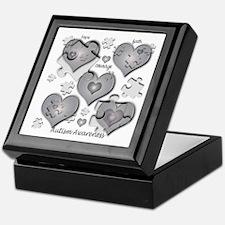 The Missing Piece Is Love Keepsake Box