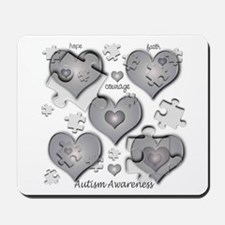 The Missing Piece Is Love Mousepad