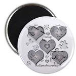 "The Missing Piece Is Love 2.25"" Magnet (10 pa"