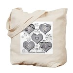 The Missing Piece Is Love Tote Bag