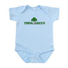 Think Green Onesie