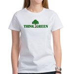 Think Green Women's T-Shirt