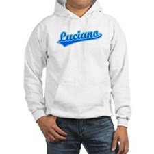 Retro Luciano (Blue) Hoodie