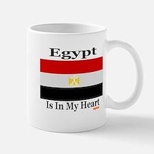 Egypt - Heart Mug