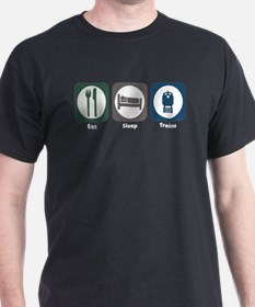 Eat Sleep Trains T-Shirt