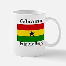 Ghana - Heart Mug