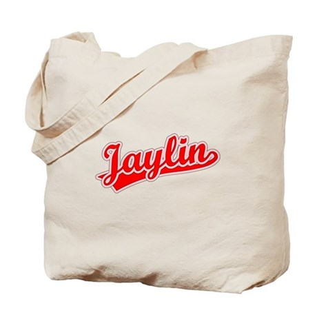 Retro Jaylin (Red) Tote Bag