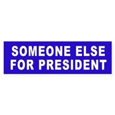 Someone Else - Bumper Car Sticker