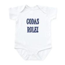 Codas Rule Infant Bodysuit