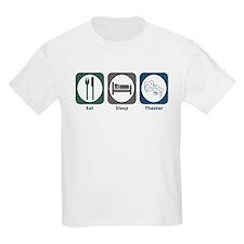 Eat Sleep Theater T-Shirt