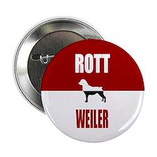"""Rottweiler 2.25"""" Button"""