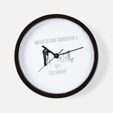 Funny Xxx Wall Clock