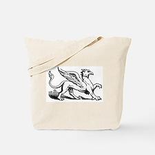 Griffin Illustration Tote Bag