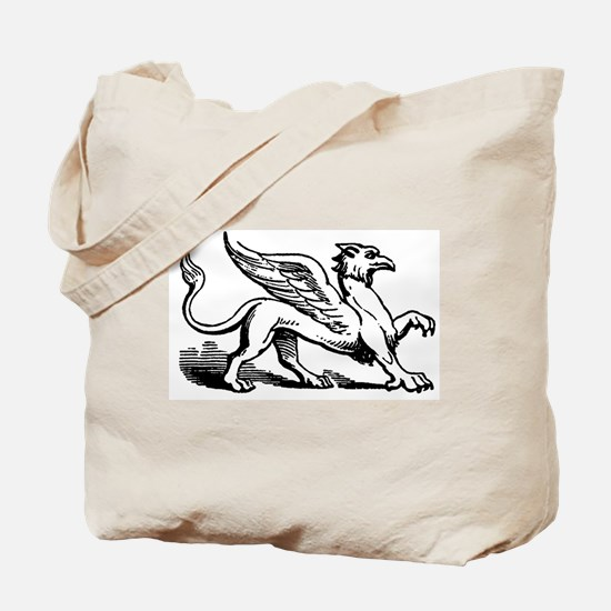 Griffin Illustration Tote Bag