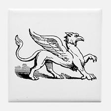 Griffin Illustration Tile Coaster