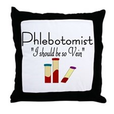 Phlebotomist Throw Pillow