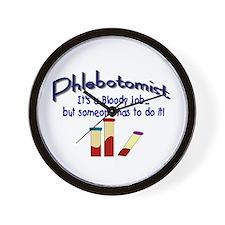 Phlebotomist Wall Clock